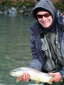 Swiss Flyfishing guide Pascal Zeller